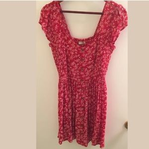 NEW!! BRAVE SOUL Ditsy Floral Button Through Dress